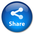 SHARE Web Button (social network internet p2p more sign symbol)