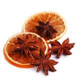 Plastry momarańczy i anyż