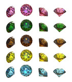 Collections of gems poster