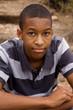 Good -looking male teenager