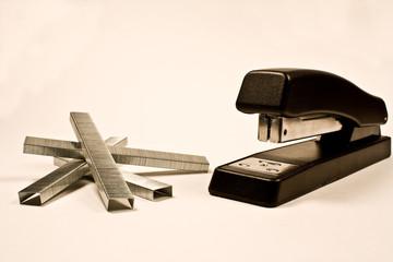 stapler and staples