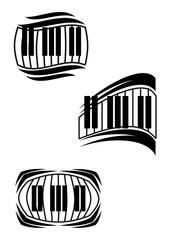Piano symbols