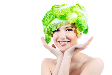 cabbage hat