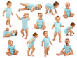 Collection of a baby boy's behavior