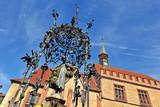 Der Gänseliesel-Brunnen in Göttingen