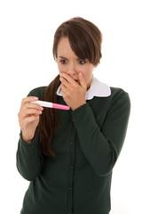 Pregnant schoolgirl