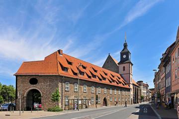 Die ev. luth. Pfarrkirche St. Marien in Göttingen