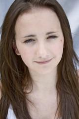 Teenage girl looking in camara