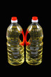 two bottles of cooking oil