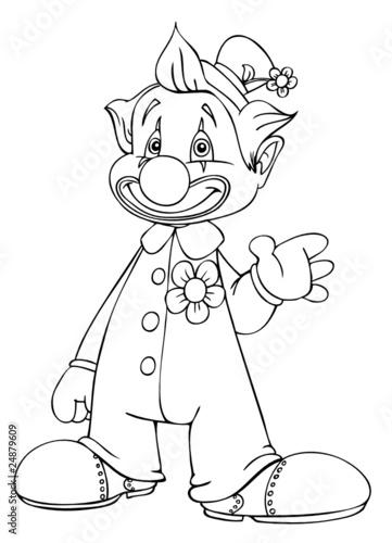 Gamesageddon Clown Karneval Zirkus Fasching Kostum