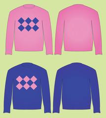 pink sweater jersey