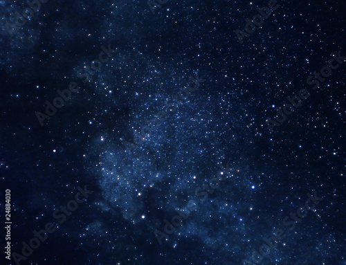Tuinposter Nacht Space background