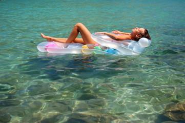 Relaks na wodzie