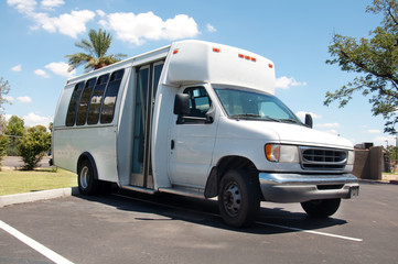 Wheelchair bus van access