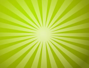 green sun light