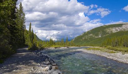 Aqua Blue Mountain River
