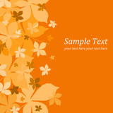 Fototapety Autumn background
