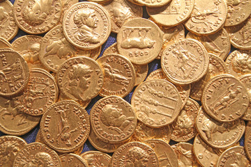 Museum Roman Gold Coins