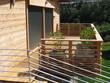 Leinwandbild Motiv terrasse de chalet