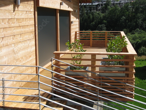 terrasse de chalet - 24898477