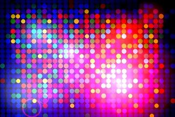 Bunter reflektierender Disco Hintergrund