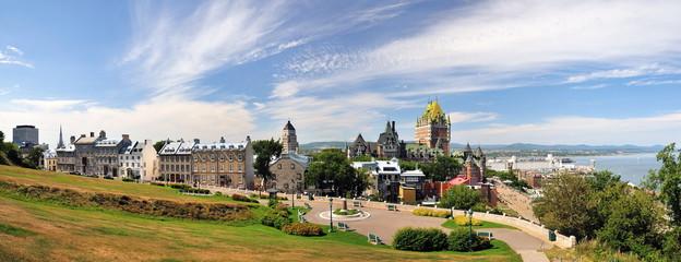 Panorama de la ville de Québec, Canada.