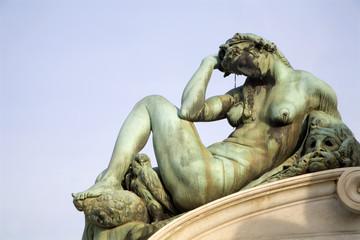 Florence - detail from Michelangelo landmark