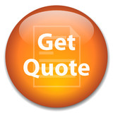 GET QUOTE Web Button (quotation price free online click instant) poster