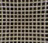 close view of a metal ventilation shaft grid poster