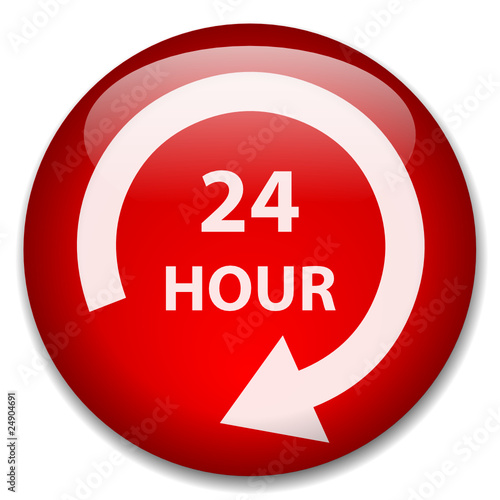 24 HOUR Web Button (7 days opening hours duty customer service)