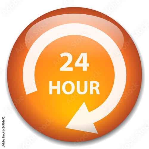 24 HOUR Web Button (opening hours 7 days duty customer service)