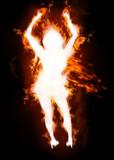Hot girl dancing poster