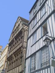 Rouen, ciudad medieval de Normandía, Francia