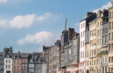 Honfleur, ciudad medieval de Normandía, Francia