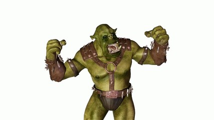 ogre is furious