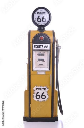 Poster Antique fuel pump