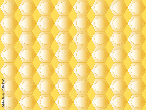 Geometrical yellow background