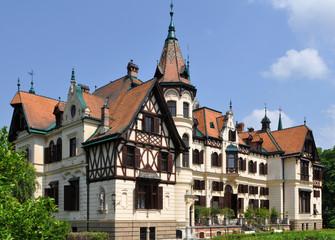 fabulous castle Lesna,Zlin,Czech republic
