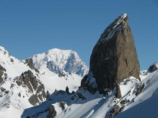 Pierra Menta et Mont Blanc