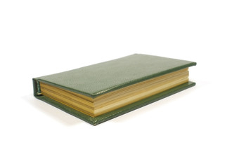 small dark green book