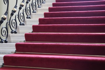 Rote Treppe