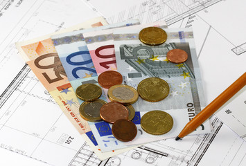 House project and euro currency