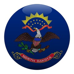 boule dakota du nord north dakota ball drapeau flag
