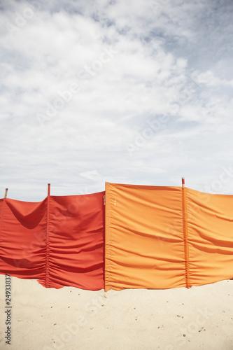 windschutz am strand von oliverel lizenzfreies foto. Black Bedroom Furniture Sets. Home Design Ideas