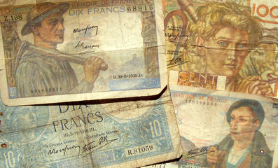 anciens billets de banque français