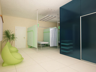 Physiotherapy Interior Design Room