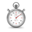 Isolated stopwatch. Clipping path included. - 24942604