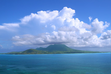 View of Nevis from Saint Kitts