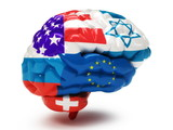 Flags on Human brain
