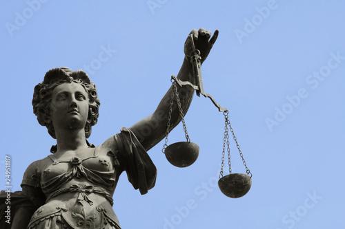 Justizia am Frankfurter Römer